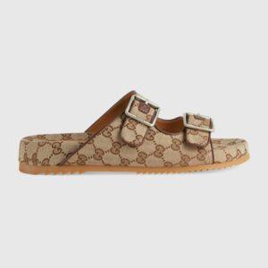 Dép Gucci slide sandal with straps DNG08