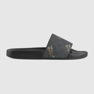 Dép Gucci GG Supreme tigers slide sandal DNG05