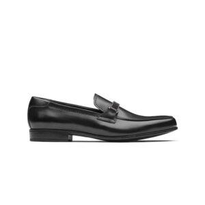 Giày lười Prada like au logo ngang GLP03