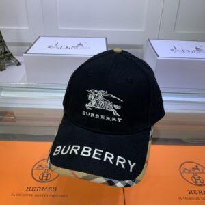 Mũ nam Burberry siêu cấp họa tiết kỵ sĩ MBB08