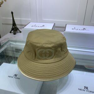Mũ nam Gucci siêu họa tiết logo chữ màu vàng MGC08