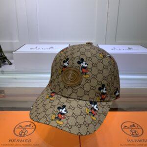 Mũ nam Gucci họa tiết Mickey MGC06