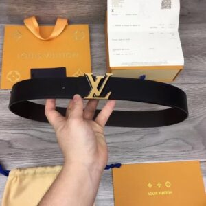 Thắt lưng Louis Vuitton Like Au da trơn khóa kép TLV25