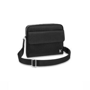 Túi đeo chéo LV Alex Messenger PM Taiga Leather TDLV23