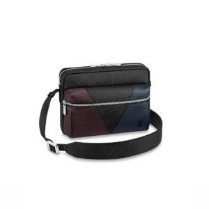 Túi đeo chéo LV Outdoor Messenger Taiga Leather TDLV22