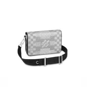 Túi đeo chéo LV Studio Messenger Damier Graphite TDLV21
