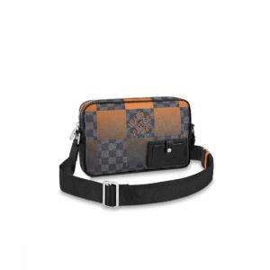 Túi đeo chéo Louis Vuitton Like Au Alpha Messenger Orange