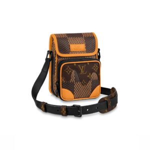 Túi đeo chéo LV x Nigo Amazone Messenger Brown