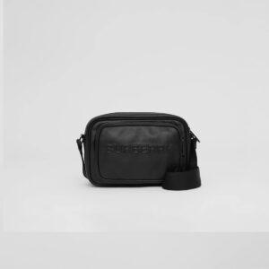Túi đeo chéo nam Burberry họa tiết chữ nổi TDB03