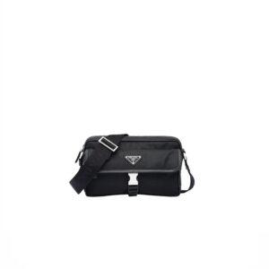 Túi Đeo Chéo Prada logo chữ trắng TDCP03