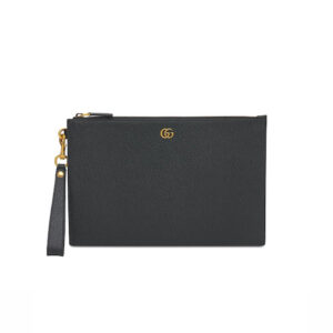 Clutch Gucci nam Marmont Leather Pouch In Back CLG04