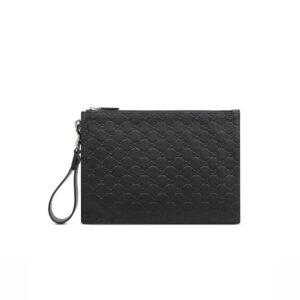 Clutch Gucci nam Signature Leather Pouch CLG06