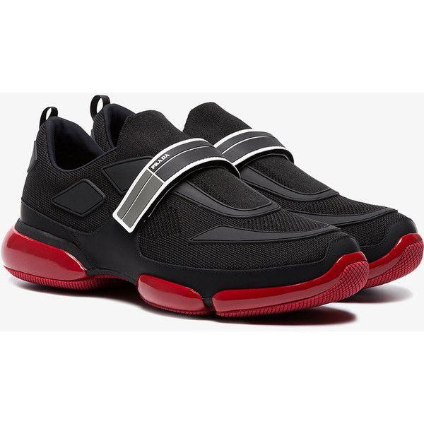 Prada Sneaker Touch Strap Fastening