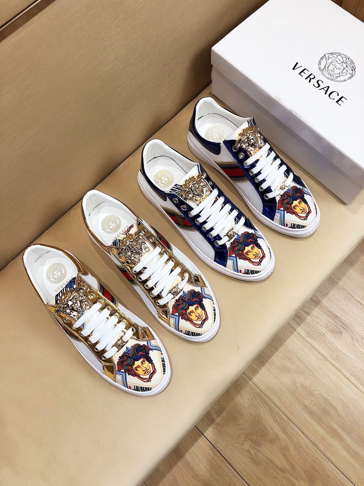 Giày Versace siêu cấp là lựa chọn với những bạn tài chính còn eo hẹp