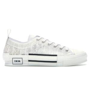 Giày Dior B23 Low Top White Dior Oblique