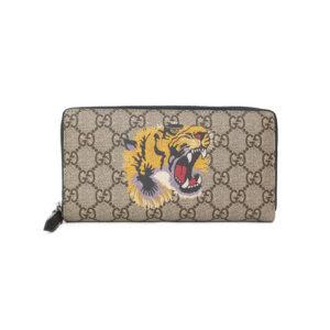 Ví Gucci siêu cấp Bestiary Beige Men's Tiger VNG04