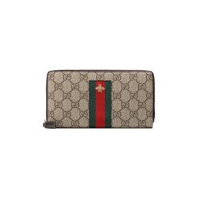 Ví Gucci siêu cấp Web GG Supreme Zip Around Wallets VNG06