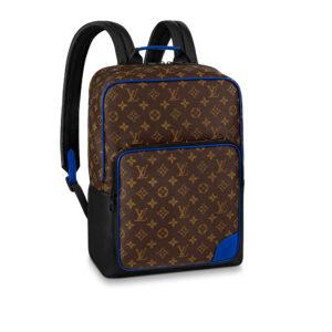 Ba Lô Louis Vuitton Dean Backpack Monogram Macassar BLV08