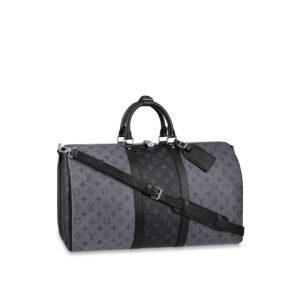 Ba Lô Louis Vuitton siêu cấp Keepall Bandoulière 50 BLV10