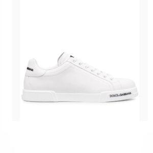 Giày D&G siêu cấp Portofino Logo-Detail Sneakers GDG06