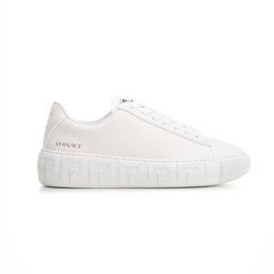 Giày Versace Greca Sneakers In White GVS01