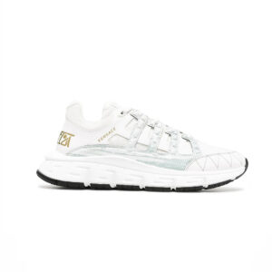 Giày Versace Trigreca Trainers in White GVS04