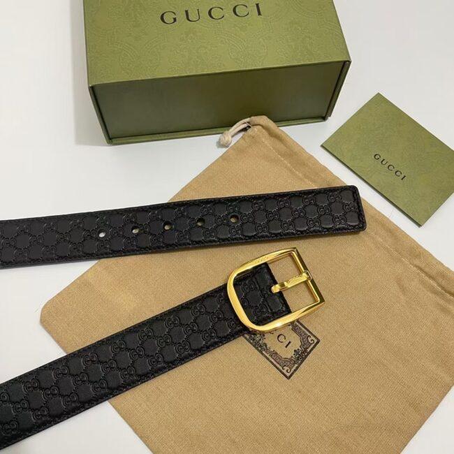 Thắt lưng Gucci siêu cấp GG Guccissima In Gold TLG08