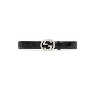 Thắt lưng Gucci siêu cấp Signature Leather Belt TLG01