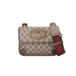 Túi đeo chéo Gucci Supreme Small Messenger Bag TDG17