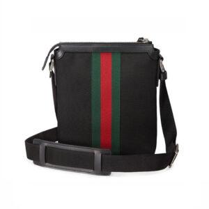 Túi Đeo Chéo Gucci Messenger Techno Canvas Black TDG19