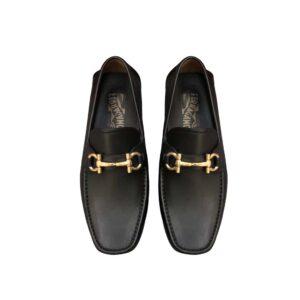 Giày lười Salvatore Ferragamo khoa vàng GSF09