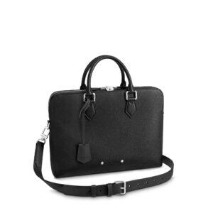 Túi Xách Louis Vuitton Armand Briefcase PM Taurillon Like Au