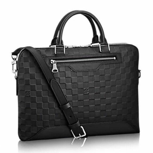 Túi Xách Louis Vuitton Avenue Soft Briefcase màu đen TXLV07