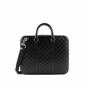Túi Xách Gucci Signature Leather Briefcase màu đen TXG07