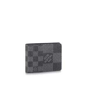 Ví Louis vuitton Multiple Wallet Gray Damier màu xám VNLV09