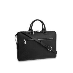 Túi Xách nam Louis Vuitton Porte Documents Taiga Like Au TXLV05