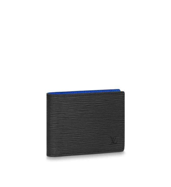 Ví nam Louis Vuitton siêu cấp Multiple Wallet Epi màu đen