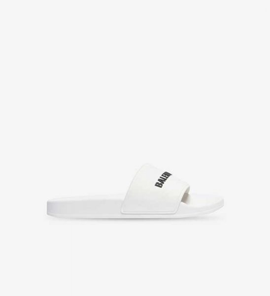 Dép nam Balenciaga siêu cấp Pool Slide White màu trắng DNB01